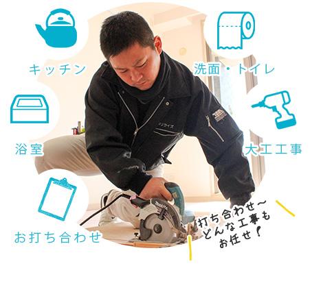 横須賀 リライズ 水まわり 設備交換 現状回復