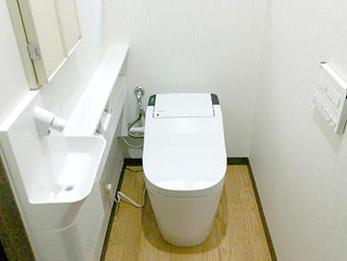 新築のように綺麗なトイレになり、満足しております。
