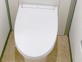 トイレがすっきりとした空間になり、嬉しいです。