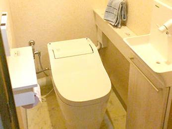 スタイリッシュなトイレになり満足しています。ありがとうございます。