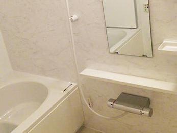 浴槽も大きくなり、大変満足しています!ありがとうございました。