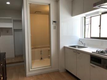 二階にお風呂場ができて暮らしやすさが段違いです