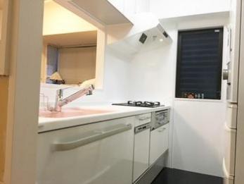 念願の食洗機!キッチンもお風呂も可愛くなって嬉しいです!