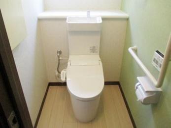 おしゃれなトイレになりました。今回もありがとうございます。
