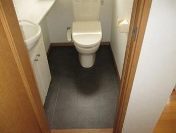 素敵なトイレと洗面になって満足です。